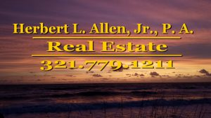 Herbert L. Allen, Jr., P.A., Real Estate Attorney, helps people with real estate problems in Satellite Beach, Florida 32937, Melbourne, Florrida 32901, Melbourne Beach, Florida 32951, Brevard County, and all of Florida.