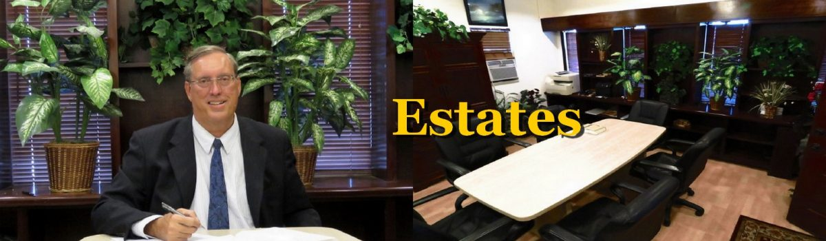 Herbert L. Allen, Jr., P.A., Estates Attorney, helps people with estate issues, including drafting and administering living trusts, revocable trusts, wills, and estate planning documents.