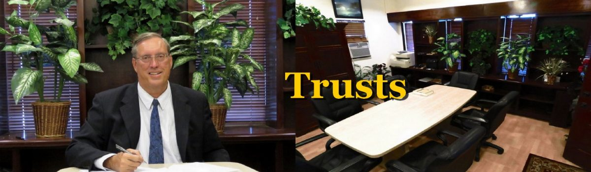Herbert L. Allen, Jr., P.A., Trust Attorney, has experience drafing and adminisering trusts in Florida with people in Satelite Beach, Florida 32937, Melbourne, Florida 32937, Indian Harbour Beach, Florida 32937 and all of Florida.